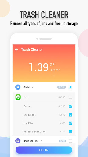 Total Cleaner 1.0.7 screenshots 2