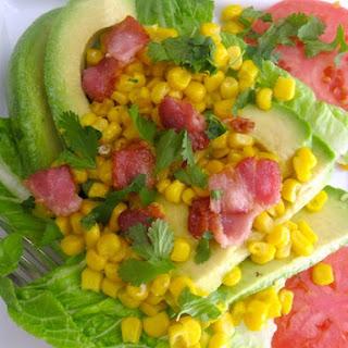 Avocado-Corn Salad with Lime Vinaigrette