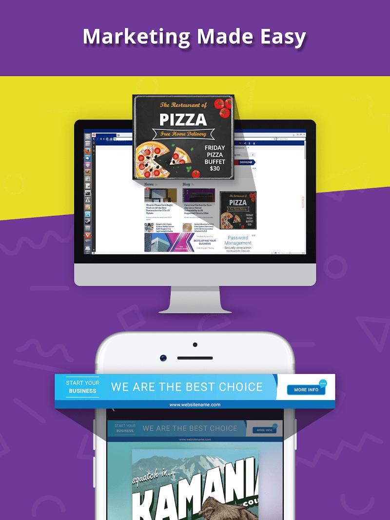 Banner Maker, Ad Maker, Web Banners, Graphic Art Screenshot 14