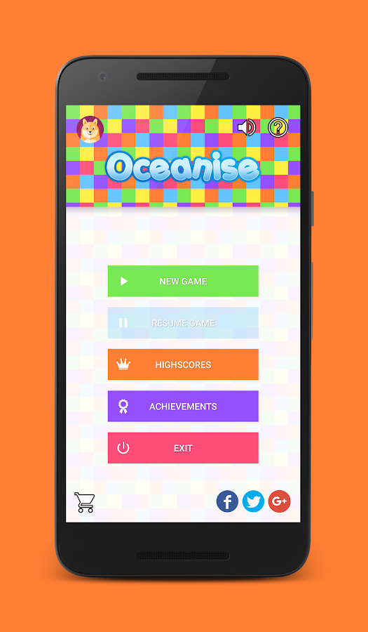 Oceanise - color flood game- screenshot