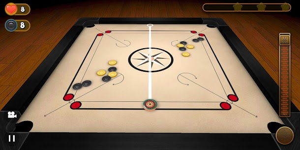 Carrom Club 3D FREE ( CARROM BOARD GAME ) 7