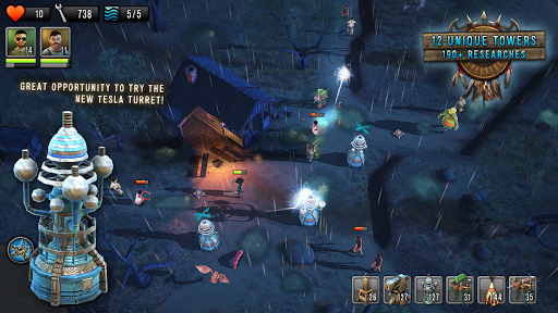 Last Hope TD - Zombie Tower Defense with Heroes 3.32 screenshots 12