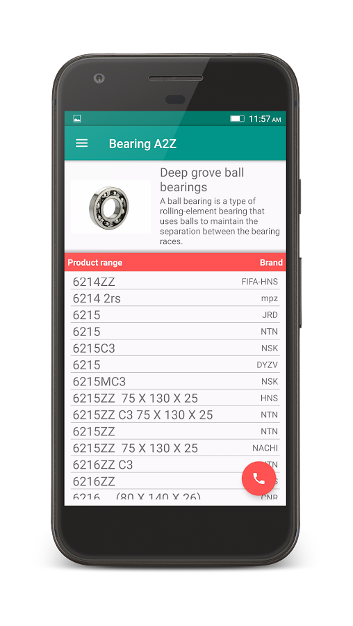 Bearing A2Z- screenshot