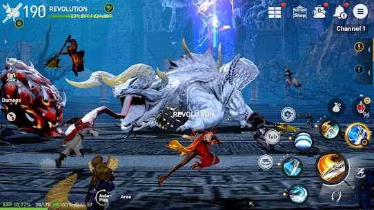 Blade&Soul Revolution Apk Download For Android and Iphone 5