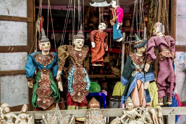 Marionette Puppet Show Inle Lake