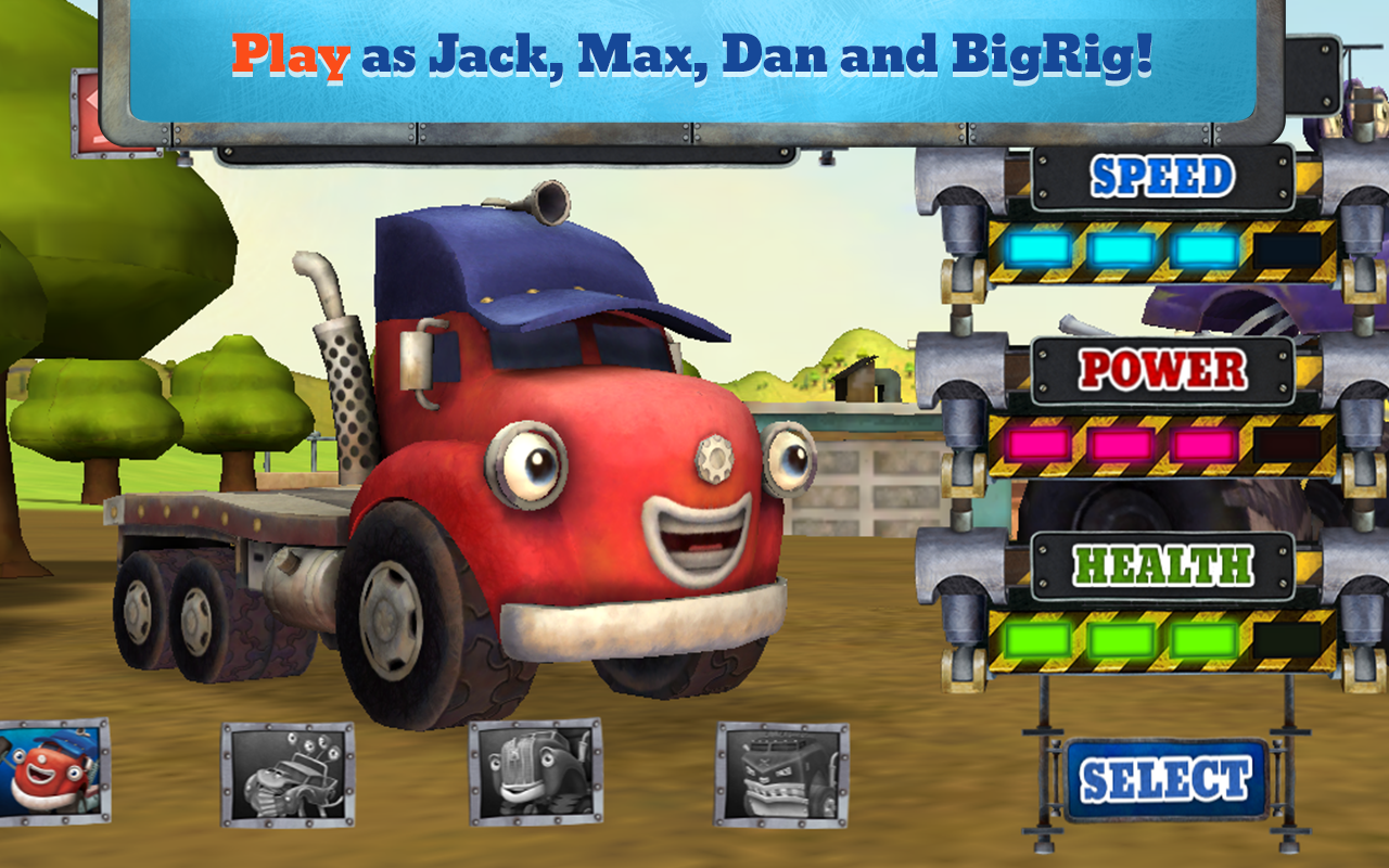 Trucktown: Smash! Crash!- screenshot