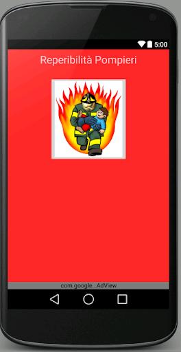 Reperibilità Pompieri