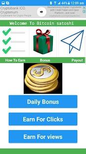 Bitcoin - Satoshi App - náhled