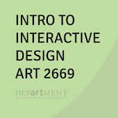 ART2669 Intro to ID