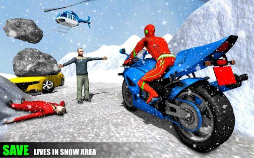 Spider Rope Hero Man screenshot 10