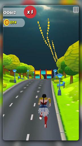 Wonder Lady Runner 1.6 screenshots 5