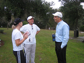 Photo: Margret, Klaus, and President Joe