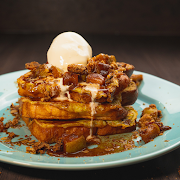 Apple Crumble French Toast
