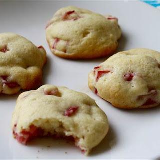 Sour Cream Rhubarb Cookies.