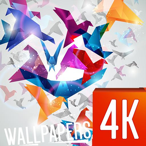 抽象壁紙4K 個人化 App LOGO-APP試玩