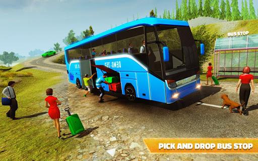 Offroad Bus Hill Driving Sim: Mountain Bus Racing 1.2 screenshots 6