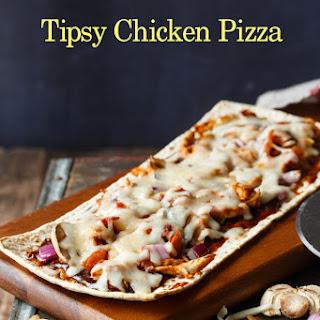 Tipsy Chicken Pizza.