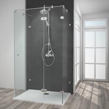 Duschkabinen aus Sicherheitsglas oder Kunstglas | Made in Germany ✅
