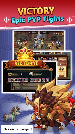 heroes legend: idle war / battle of dota heroes screenshot 3