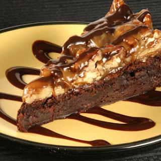 Chocolate-Bourbon Toffee Bars.