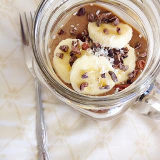 Chocolate Avocado Banana Smoothie