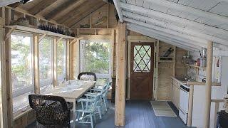 Dilapidated Island Cabin