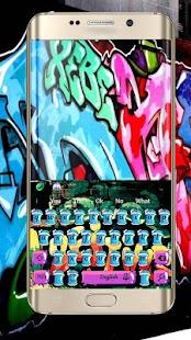 Klávesnice Street Graffiti - náhled