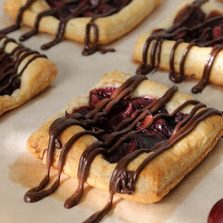 Chocolate Cherry Tarts Recipe