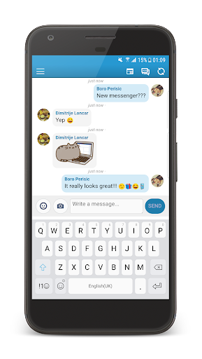 Inbox Messenger Lite screenshot 2