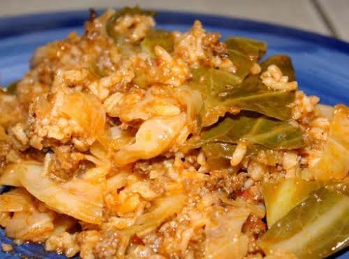 """Cabbage Roll Casserole """"We love this dish! Make it all the time.""""..."""