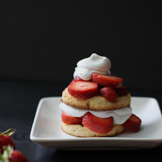 Almond Strawberry Shortcake