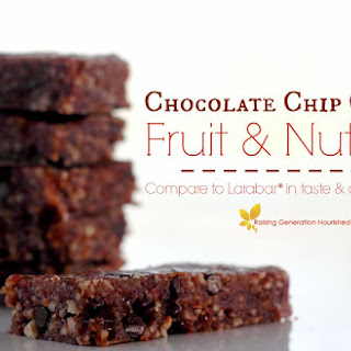 Chocolate Chip Cookie Fruit & Nut Bar (Compare to Larabar!) *PLUS* An Amazing Deal From MightyNest!