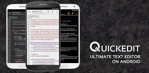 Приложения в Google Play – QuickEdit Текстовый редактор