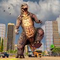 Monster Dinosaur  Rampage : City Attack icon