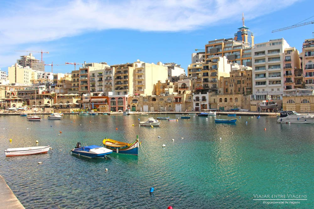 Visitar Sliema e St. Julians Bay, o centro da movida em Malta | Malta