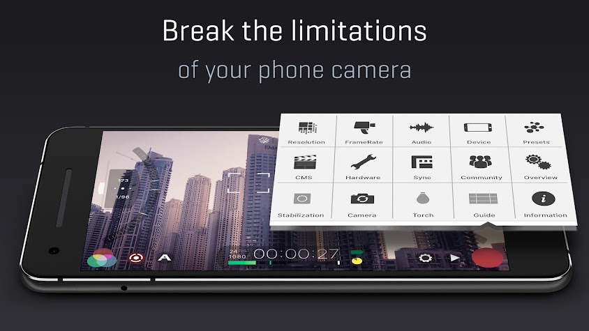 FiLMiC Pro: Professional HD Manual Video Camera Screenshot