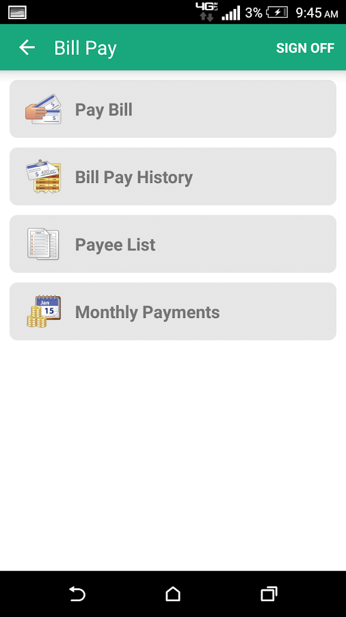 Rainbow FCU Mobile- screenshot