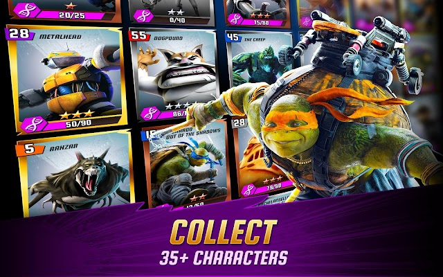 Ninja Turtles: Legends- screenshot