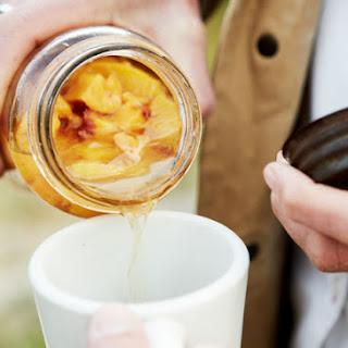 Peach-Infused Moonshine