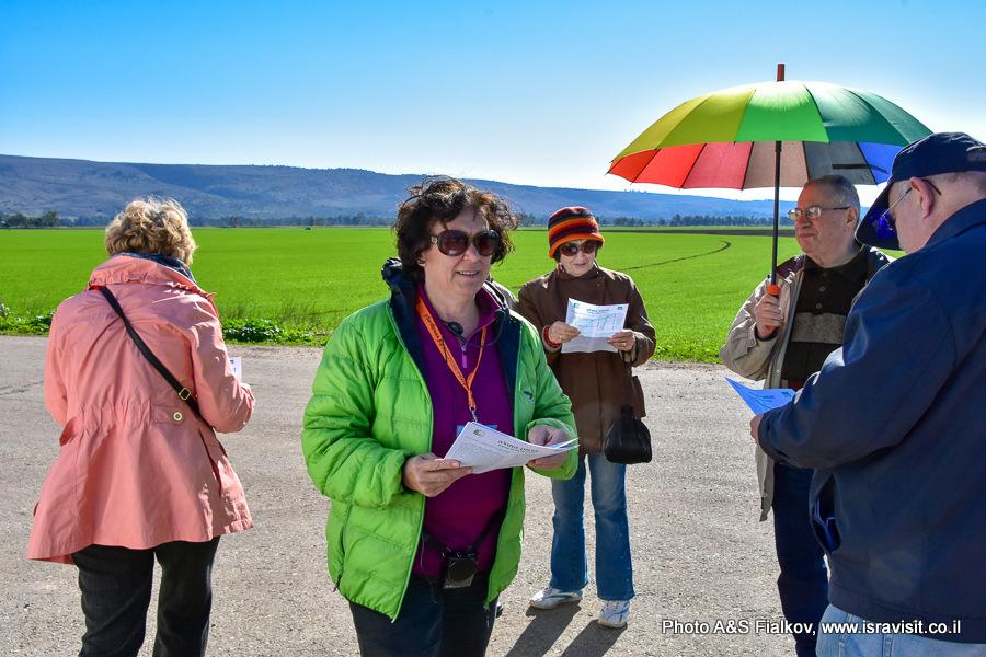 Гид в Израиле Светлана Фиалкова. Экскурсия в Национальный Парк Агамон а-Хула.