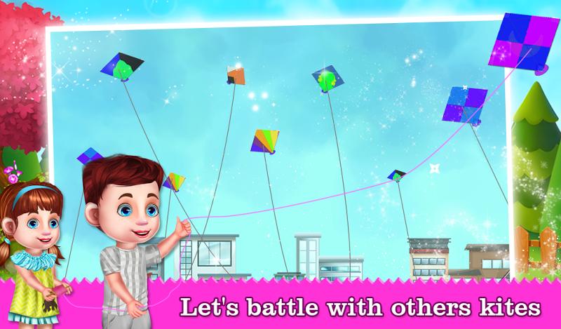 Скриншот Kite Flying Adventure Game