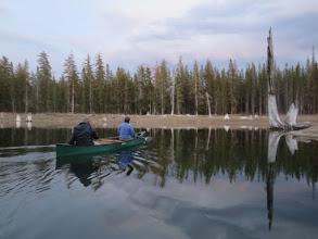 Photo: Alan and Roberta on the lake