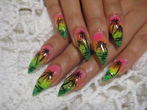 Woman Nail Fashion