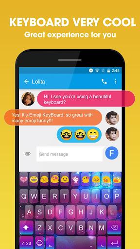 Emoji Keyboard screenshot 1