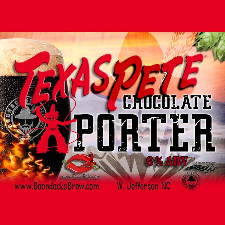 Logo of Boondocks Texas Pete Chocolate Porter