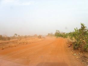Photo: nieprzyjemne odcinki drogi, malii, mauteranii i burkina, w Senegalu też.