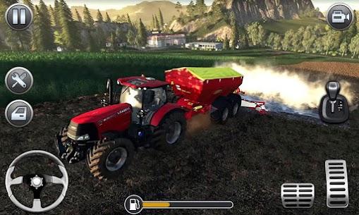 Farming Simulator – Big Tractor Farmer Driving 3D 3