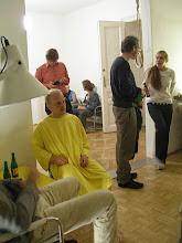 Photo: SEX, SEX, SEX. NEIN, NEIN, NEIN. Der vierte Salon des Arts - Ohne Titel (Yellow walks with me) Performance David Jourdan und Christoph Harringer