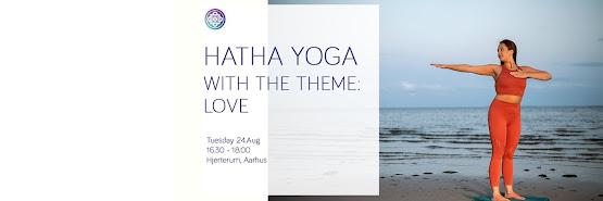 Hatha Yoga with the Theme: Love - Aarhus - English