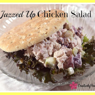Jazzed Up Chicken Salad ~ 2016 America's Better Sandwich Contest